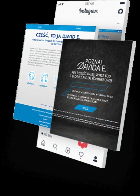 strona konkursu Online - Case Study