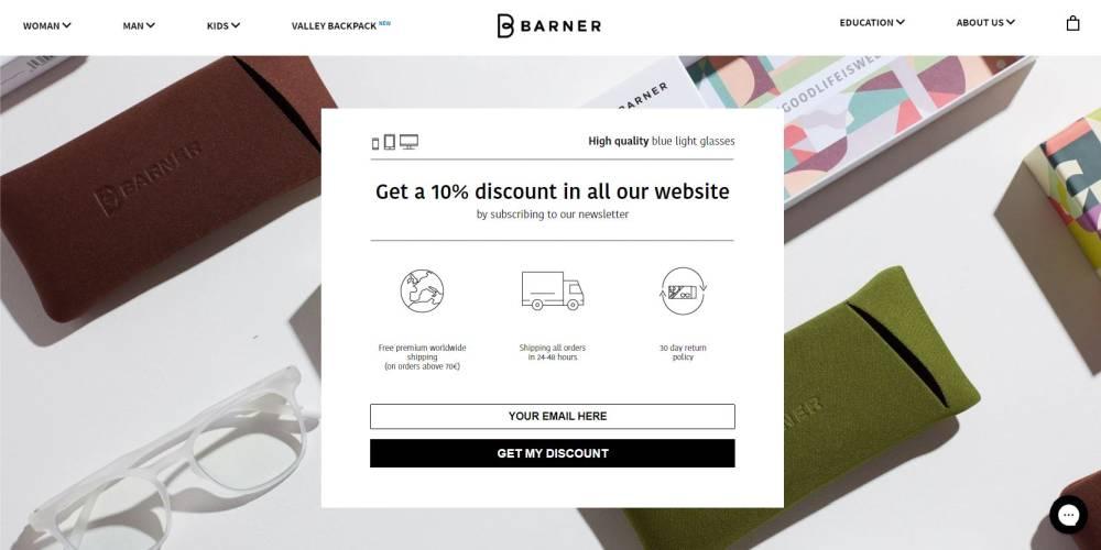 Propozycja wartości Online Barner - online value proposition